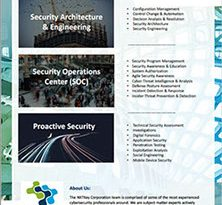 NXTKey Cyber Security Informational One Pager