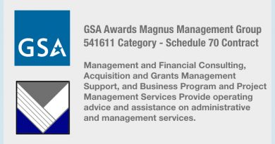Magnus awarded GSA 70 Category 541611 Contract